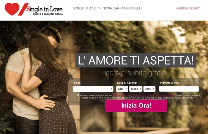 Siti Di Incontri Per Single : Single In Love ™