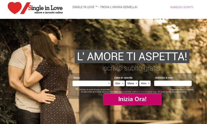 single in love home page
