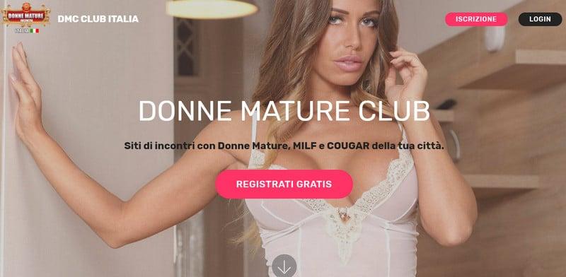 donne mature club