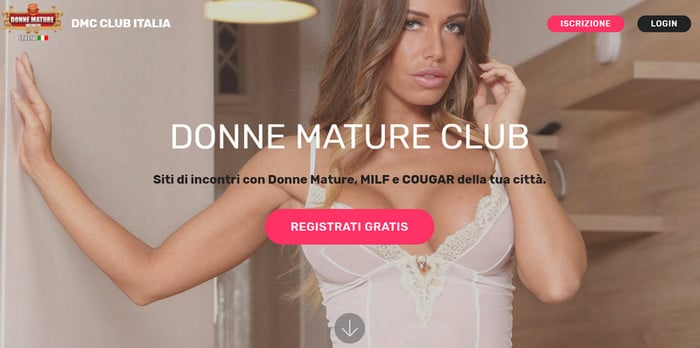 donne mature club home page